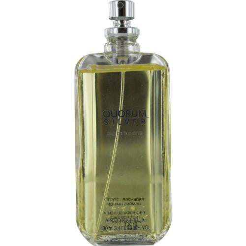 Quorum Silver By Antonio Puig Edt Spray 3.4 Oz *tester