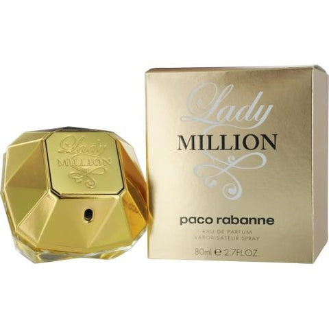 Paco Rabanne Lady Million By Paco Rabanne Eau De Parfum Spray 2.7 Oz