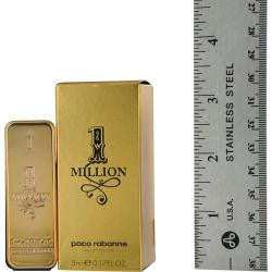 Paco Rabanne 1 Million By Paco Rabanne Edt .17 Oz Mini