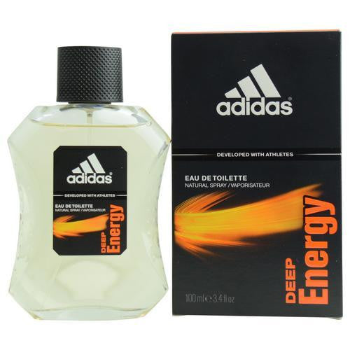 Adidas Deep Energy By Adidas Edt Spray 3.4 Oz (developed With Athletes)