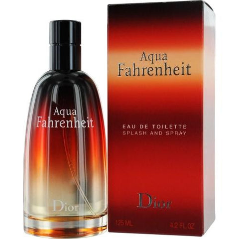 Aqua Fahrenheit By Christian Dior Edt Spray 4.2 Oz