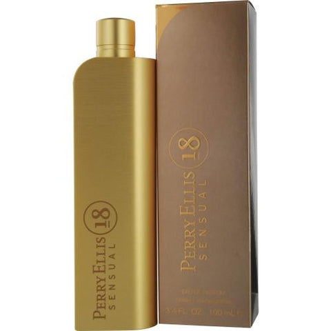 Perry Ellis 18 Sensual By Perry Ellis Eau De Parfum Spray 3.4 Oz