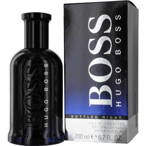 Boss Bottled Night By Hugo Boss Edt Spray 6.7 Oz