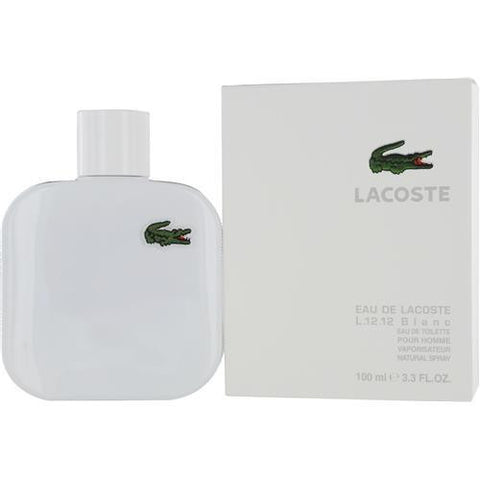 Lacoste Eau De Lacoste L.12.12 Blanc By Lacoste Pure Edt Spray 3.3 Oz