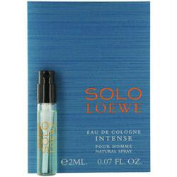 Solo Loewe Intense By Loewe Eau De Cologne Spray Vial On Card