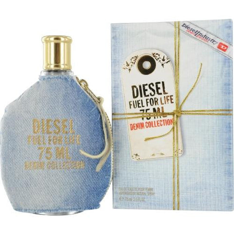 Diesel Fuel For Life Denim By Diesel Edt Spray 2.5 Oz freeshipping - 123fragrance.net