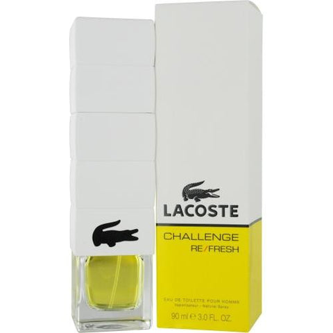 Lacoste Challenge Refresh By Lacoste Edt Spray 3 Oz