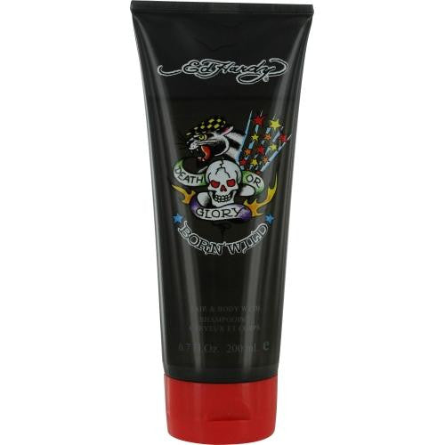 Ed Hardy Born Wild By Christian Audigier Hair & Body Wash 6.7 Oz