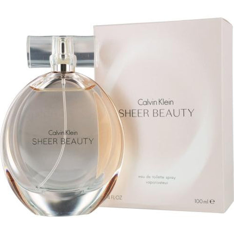 Calvin Klein Sheer Beauty By Calvin Klein Edt Spray 3.4 Oz