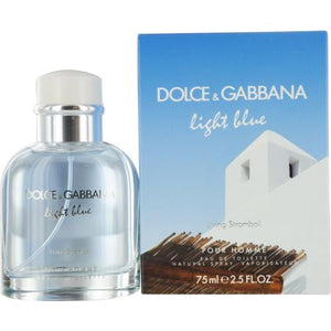 D & G Light Blue Living Stromboli Pour Homme By Dolce & Gabbana Edt Spray 2.5 Oz