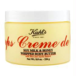 Creme De Corps Soy Milk & Honey Whipped Body Butter --226g-8oz