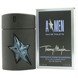 Angel By Thierry Mugler Edt Spray Rubber Bottle Refillable 1.7 Oz