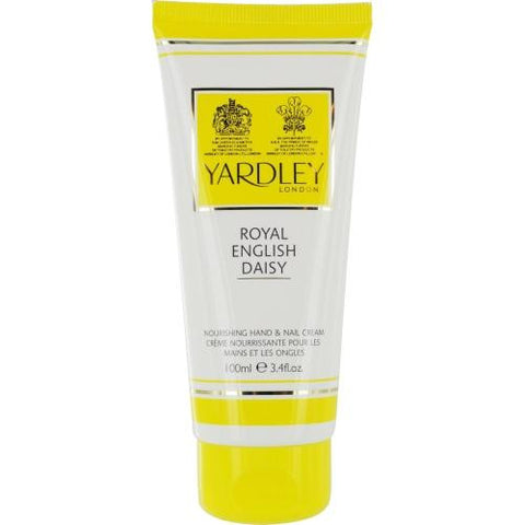 Yardley By Yardley Royal English Daisy Hand & Nail Cream 3.4 Oz