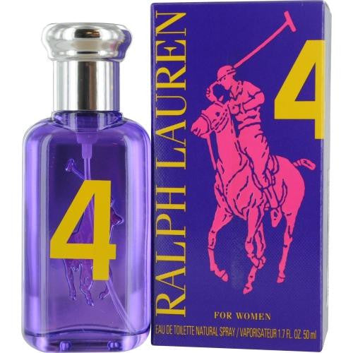 Polo Big Pony #4 By Ralph Lauren Edt Spray 1.7 Oz