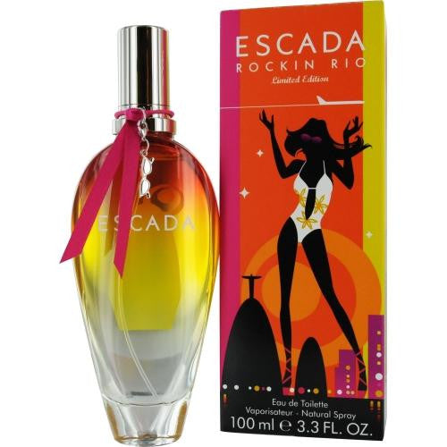 Escada Rockin Rio By Escada Edt Spray 3.4 Oz (2011 Limited Edition) freeshipping - 123fragrance.net