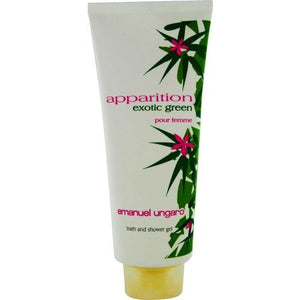 Apparition Exotic Green By Ungaro Bath And Shower Gel 13.5 Oz