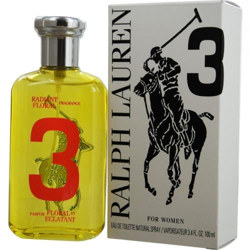Polo Big Pony #3 By Ralph Lauren Edt Spray 3.4 Oz *tester freeshipping - 123fragrance.net