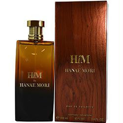 Hanae Mori Him By Hanae Mori Edt Spray 3.4 Oz