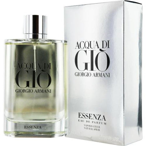 Acqua Di Gio Essenza By Giorgio Armani Eau De Parfum Spray 6 Oz