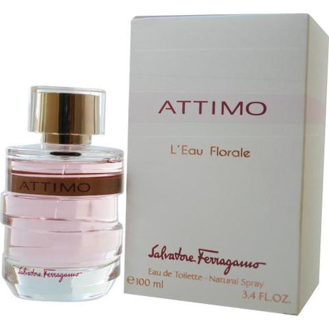 Attimo L'eau Florale By Salvatore Ferragamo Edt Spray 3.4 Oz