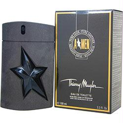 Angel Men Pure Leather By Thierry Mugler Edt Spray 3.4 Oz