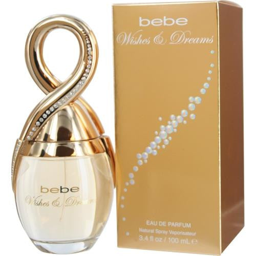 Bebe Wishes & Dreams By Bebe Eau De Parfum Spray 3.4 Oz