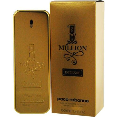 Paco Rabanne 1 Million Intense By Paco Rabanne Edt Spray 3.4 Oz