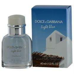 D & G Light Blue Living Stromboli Pour Homme By Dolce & Gabbana Edt Spray 1.3 Oz