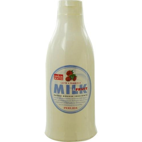 Milk And Strawberry Bath Mousse--500ml-16.9 Oz