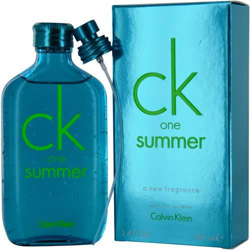 Ck One Summer By Calvin Klein Edt Spray 3.4 Oz (limited Edition 2013)