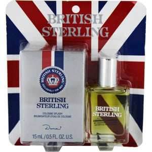 British Sterling By Dana Cologne .5 Oz