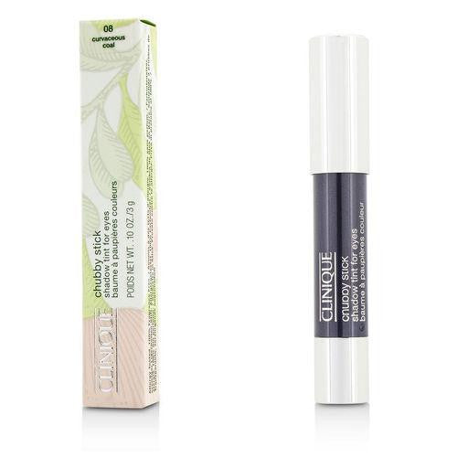 Clinique Chubby Stick Shadow Tint For Eyes - # 08 Curvaceous Coal --3g-0.1oz By Clinique freeshipping - 123fragrance.net