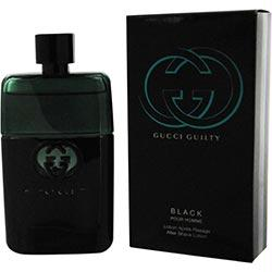 Gucci Guilty Black Pour Homme By Gucci Aftershave 3 Oz