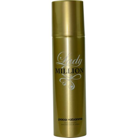 Paco Rabanne Lady Million By Paco Rabanne Deodorant Spray 5 Oz