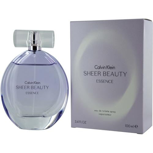 Calvin Klein Sheer Beauty Essence By Calvin Klein Edt Spray 3.4 Oz