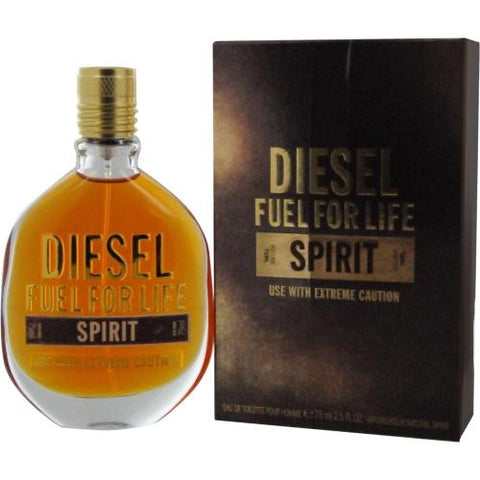 Diesel Fuel For Life Spirit By Diesel Edt Spray 2.5 Oz freeshipping - 123fragrance.net