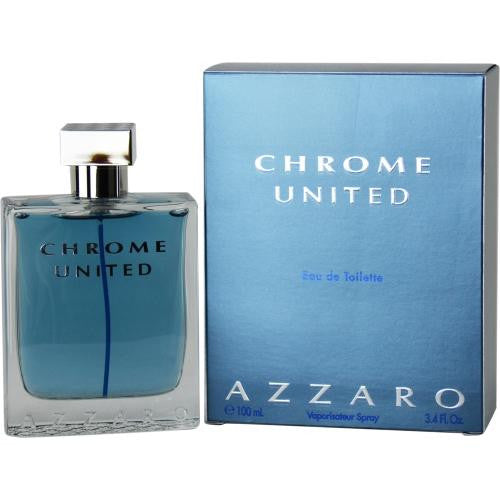 Chrome United By Azzaro Edt Spray 3.4 Oz