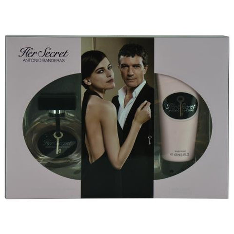 Antonio Banderas Gift Set Her Secret By Antonio Banderas freeshipping - 123fragrance.net