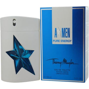 Angel Men Pure Energy By Thierry Mugler Edt Spray 3.4 Oz (limited Edition)