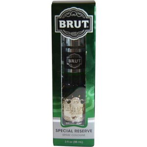 Brut By Faberge Special Reserve Spray Cologne 3 Oz (glass Bottle)