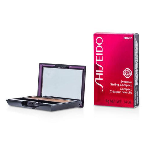 Shiseido Eyebrow Styling Compact - # Br602 Medium Brown --4g-0.14oz By Shiseido freeshipping - 123fragrance.net