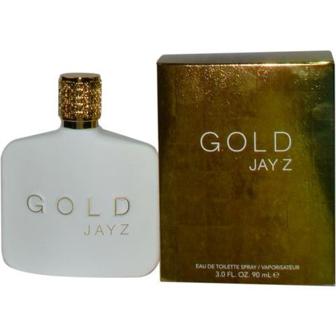 Jay Z Gold By Jay-z Edt Spray 3 Oz