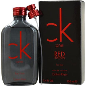 Ck One Red Edition By Calvin Klein Edt Spray 3.4 Oz (limited Edition)