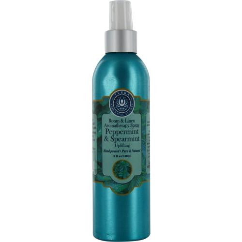 Room & Linen Peppermint & Spearmint Uplifting Aromatherapy Spray 8 Oz By
