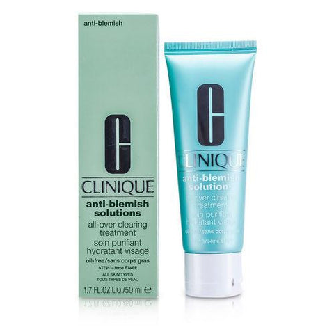 Anti-blemish Solutions All-over Clearing Treatment--( Oil-free ) --50ml-1.7oz freeshipping - 123fragrance.net