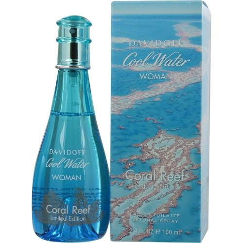 Cool Water Coral Reef By Davidoff Edt Spray 3.4 Oz (limited Edition)