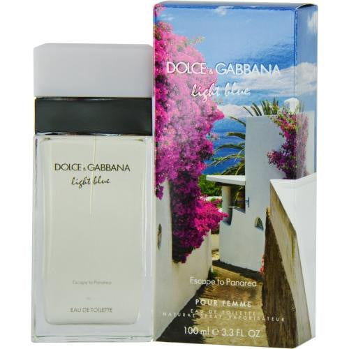 D & G Light Blue Escape To Panarea By Dolce & Gabbana Edt Spray 3.3 Oz (limited Edition)