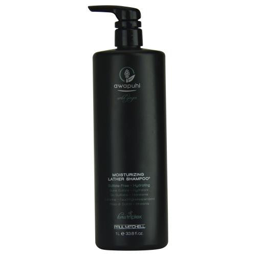 Awapuhi Wild Ginger Moisturizing Lather Shampoo  33.8 Oz