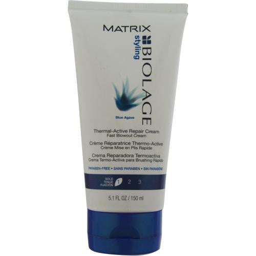 Blue Agave Thermal-active Repair Cream Fast Blow Out Cream 5.1 Oz