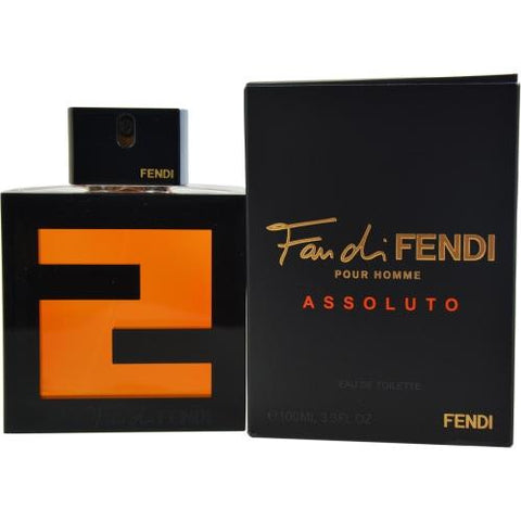 Fendi Fan Di Fendi Pour Homme Assoluto By Fendi Edt Spray 3.4 Oz